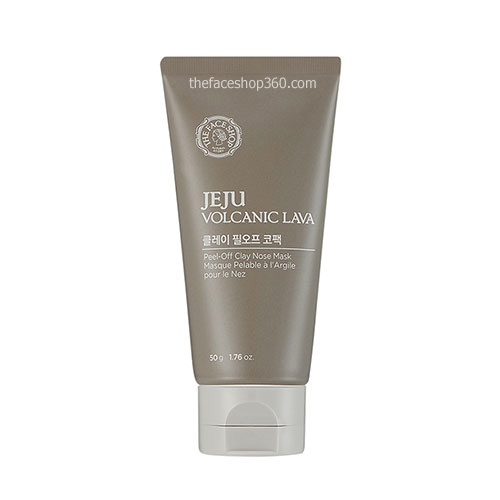Gel Lột Mụn Jeju Volcanic Lava Peel-off Clay Nose Mask TheFaceShop